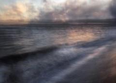 High Tide (cotswoldman) Tags: torquay devon seascape seaside water waves sunset sun abstract artistic art blur impression intentionalcameramovement icm impressionism impressionist gloucestercameraclub reflection