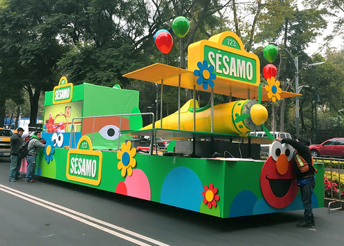 Carro Sésamo BoloFest2016