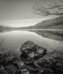 Loch Arkaig (Kevin1314) Tags: loch arkaig highlands black white reflection scotland