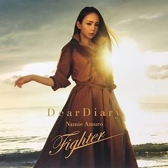 (CD jacket) Dear Diary_Fighter (1) (Namie Amuro Live ) Tags: namie amuro  deardiary deathnote fighter singlecover jacketsscans cdonly