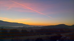 Aurora nel Valdarno (carpir@rmonia) Tags: aurora dawn autunno autumn toscana tuscany valdarno paesaggio landscape