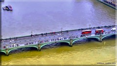 LONDRES 8 (Ismael I) Tags: londres london londoneye reinounido inglaterra puente riotamisa riotamesis agua water autobuses westminster bridge