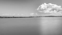 Whispering Clouds (Eunice Eunjin Oh) Tags: ca seascape calmness outdoorphotography santacruz sanrafael longexposure leefilter tide clouds pier sanfrancisco whispering
