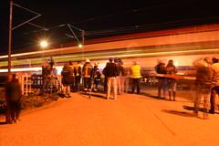 Colisão do R 4425 contra um camião na PN 69,474 - Vale de Santarém (2) (valeriodossantos) Tags: comboio cp ip infraestruturasdeportugal train passageiros ute2240 regional cpregional automotoraelétrica acidente camião zorra retroescavadora pn passagemdenível colisão valedesantarém santarém linhadonorte caminhosdeferro portugal