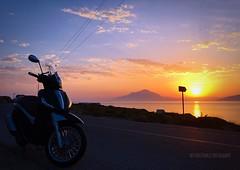 ikaria (Aris Koutrakis) Tags: road ikaria greece greek samos airport hellas ellada islant piaggio beverly east summer beach sun good morning aegean