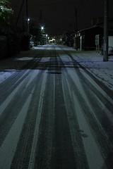 意外と道も白いまま (fukapon) Tags: snow 弘前 hirosaki 青森 aomori k3 smc pentax fa 35mm f20 smcpfa35mmf20al