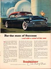 1956 Buick Roadmaster Advertisement Time Magazine June 25 1956 (SenseiAlan) Tags: 1956 buick roadmaster advertisement time magazine june 25