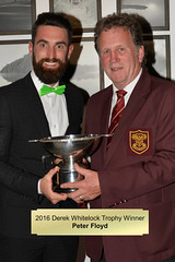 028-Peter Floyd-Derek Whitelock Trophy Winner (Neville Wootton Photography) Tags: 2016golfseason andrewcorfield derekwhitelocktrophy golfsectionmens peterfloyd presentationnights stmelliongolfclub winners saltash england unitedkingdom