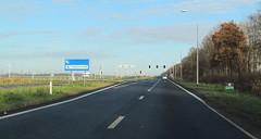 N305 Zeewolde-1 (European Roads) Tags: n302 n305 zeewolde harderwijk flevoland 2x2 autoweg nl netherlands