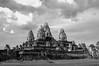 (• scarey photography •) Tags: blackandwhite monochrome outdoor sky cambodia siemreap