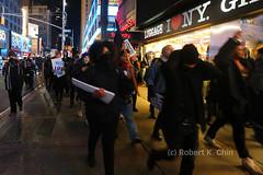 NYC Solidarity March with Standing Rock 23 Nov 2016 (lucky_dog) Tags: nodapl dakotaaccesspipeline nyc newyork solidarity radicals demonstrators vigil march standingrock waterislife mniwicon