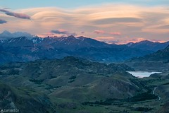 Dusk - Parque Patagonia (Captures.ch) Tags: 2016 black brown bush capture chile clouds dusk gras gray green hiking lagunaaltas nature november orange parquepatagonia red road sky southamerica trail travel vallechacabuco white yellow young