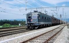 11684  Möhlin  25.08.99 (w. + h. brutzer) Tags: möhlin eisenbahn eisenbahnen train trains schweiz switzerland railway elok eloks lokomotive locomotive zug 620 re66 sbb webru analog nikon
