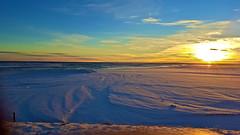 Við Kúðafljót (skolavellir12) Tags: kúðafljót iceland sun sunset