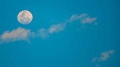 my moon_daylight (nano_el) Tags: moon luna daylight dia nubes clouds lightblue blue azul celeste nikkor nikkor70300vr 70300 vr nikon d750