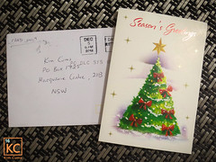 Christmas Mail (Kim Cums) Tags: card christmas fanmail flickrsafe free membership website kimcums