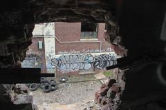 Nive (NJphotograffer) Tags: graffiti graff new jersey nj newark abandoned building urban explore nive pdv crew clout