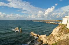 Sep 21: Sunny Rocky Bay, Terrasini (johan.pipet) Tags: flickr terrasini landscape seascape bay coast cliff rocks sicily italy sunny holiday eu europe palo barto canon skyline nature