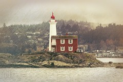 Fisgard Lighthouse - Colwood, Vancouver Island, British Columbia, Canada (Toad Hollow Photography) Tags: hdr lighthouse heritage historic esquimalt harbor fisgard site oldest westcoast victoria bc britishcolumbia canada vancouverisland architecture romance sea ocean beacon