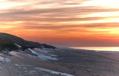 December in Holland (lindaouwehand) Tags: beach sea strand sand sunset winter december holland nature dune cold