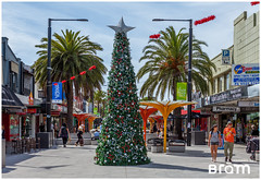 Christmas sint-Kilda Melbourne (Moments By Bram) Tags: melbournebeach sintkilda australia melbourne christmas downunder