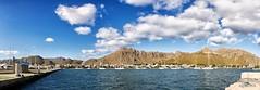 Panormica puerto de Pollensa, Mallorca. (AGONZA) Tags: mallorca mediterrneo mar puertodeportivo barcos agua cielo nubes montaa paisaje agonza panormica aire libre