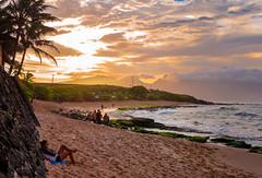 Ho'okipa Beach (Patricia Colleen) Tags: hookipabeach paia maui sunset surfergirl
