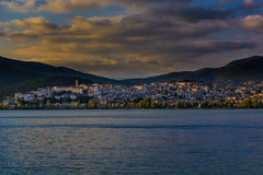 Like most cities, Kastoria could be a lonely place... (dimitrisrentis) Tags: kastoria light lake outdoor orestiada sky scenery sun sunset skymood city clouds urban beauty buildings water hellas nature nikon d5200 seaside sea sunsetlight makedonia mountain macedoniagreece timeless macedonian μακεδονια