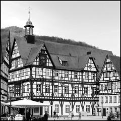 - Bad Urach - (HORB-52) Tags: badurach badenwrttemberg berndsontheimer fachwerkhaus fachwerk maisoncolombages halftimberedhouse monochrom noiretblanc