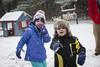 """Josie, come sledding with me!"" (grilljam) Tags: seamus 4yrs pejepscotdayschool firstsnow december2016 winter sledding josie hisgoodfriend"