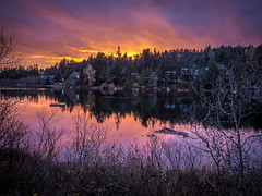 Florence Lake sunset (BethR.photography) Tags: sunsets lakes pink