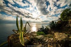 Seascape (Sandro Gherbassi 1968) Tags: 5terre riviera liguria italia italy sunset sea seascape clouds nikon nikkor
