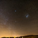 MIlky way and Magellanic clouds