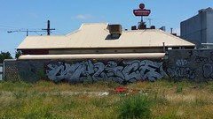 Malice... (colourourcity) Tags: streetartaustralia streetart graffiti melbourne burncity awesome colourourcity streetartnow bunsen burners burner alphabetmonsters letters wildstyle bombing malice tsf mcdonalds