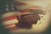 One of my american dreams (Jarek Jahl) Tags: dream usa unitedstates flag vintage old car chocolate homemade manufacture workshop creative 7dwf closeup