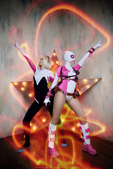 __IMG_0087_ (DashaOcean) Tags: marvel cosplay gwen stacy poolw spidergwen spiderwoman spider woman gwenpool