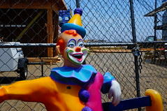 What's so funny, you clown !! (Hazboy) Tags: new summer usa beach america us seaside state clown nj shore jersey boardwalk heights hazboy hazboy1