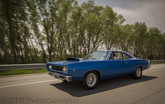 Cruising Super Bee (GTB Photos) Tags: shot muscle super bee dodge rolling 68 automtion