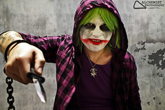 Joker (Alchemist Photography) Tags: comics costume cosplay clown makeup batman horror joker dccomics villain animenext