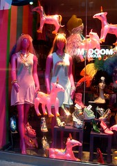 Neighbourhood Pride (Georgie_grrl) Tags: pink toronto ontario festival fun mannequins smiles happiness pride originals celebration event positive rainbows unicorns queenstreetwest windowdisplay version20 itsthelittlethings 365project mydarkpinkside samsungd760