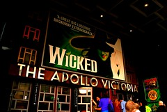 Wicked (m a e ebrooks) Tags: music london theatre lifestyle busy wicked experience musicals