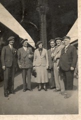 Amiens Railway Station, July 1936 for Vimy Memorial unveiling
