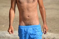 Dead Sea Disclosure (xrispixels) Tags: wet shorts vpl bulge