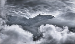 The White Mountain (Paul Sivyer) Tags: alps chamonix montblanc domedegouter paulsivyer wildwalescom