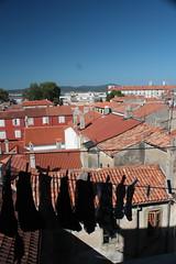 Laundry day in Zadar, Croatia. (Darren Greene.) Tags: travel summer vacation holiday inspiration beauty sunshine rooftops terracotta croatia bluesky tiles laundry zadar washingline natuer