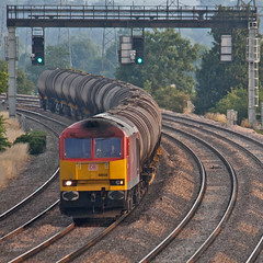 Typical (Richie B.) Tags: ratcliffe traction brush db class 60 nottinghamshire soar on schenker procor 60020 6e38