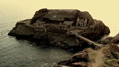 Fort des Capucins (wanderer_photographer) Tags: sea mer brittany fort military ruin bretagne forbidden militaire ruines interdit capucins roscanvel finistere passe canonsx10is