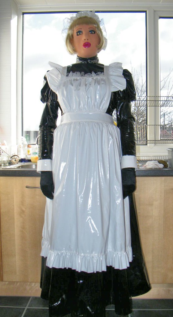 Accept. apron domination dressing female maid sissy