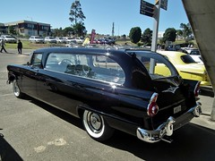 1959 Ford Mainline hearse (sv1ambo) Tags: ford hearse 1959 mainline 2013 shannonseasterncreekclassic sydneymotorsportpark