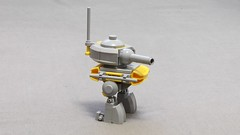 "HK-1092 ""Fog Cannon"" (Roboslob92) Tags: robot lego mecha mech mobileframe mobileframezero mobileframezerorapidattack"